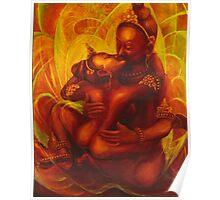 PADMASAMBHAVA & YESHE TSOGYEL ~ YAB YUM Poster