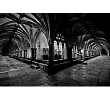 Norwich Cathedral Cloisters Photographic Print