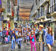 Busy Street by martinhenry