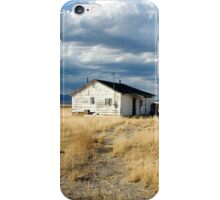 House at Skull Valley iPhone Case/Skin