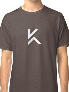 K Tee small white Classic T-Shirt