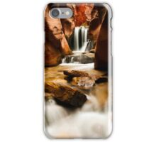 Kanarra Waterfall  iPhone Case/Skin