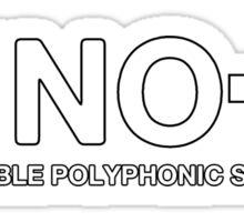 Vintage Juno 60 Synthesizer Sticker