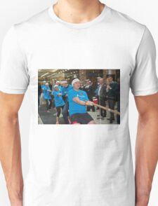 London Poppy day tug of war at Canary Wharf Docklands  Unisex T-Shirt