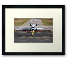 United N158GJ Ariv ALB Framed Print