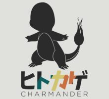 Charmander Pokémon (Japanese/English text name) by Akyde
