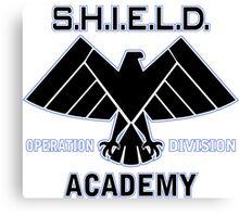 Shield Academy Operation Dvs Canvas Print