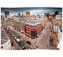 Manchester City Centre Poster