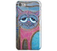 Color Me Cat iPhone Case/Skin