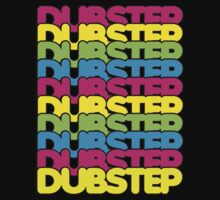 Dubstep (rainbow color) Kids Tee