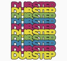 Dubstep (rainbow color) T-Shirt