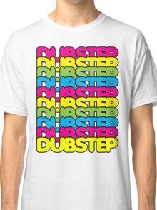Dubstep (rainbow color) Classic T-Shirt
