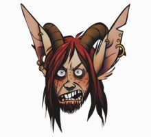 Angry Garis the Satyr !Coloured Version! by Alisa Didkovsky