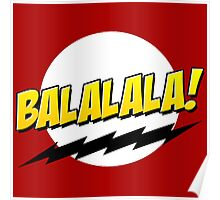 Baymax Fistbump Balalala Poster