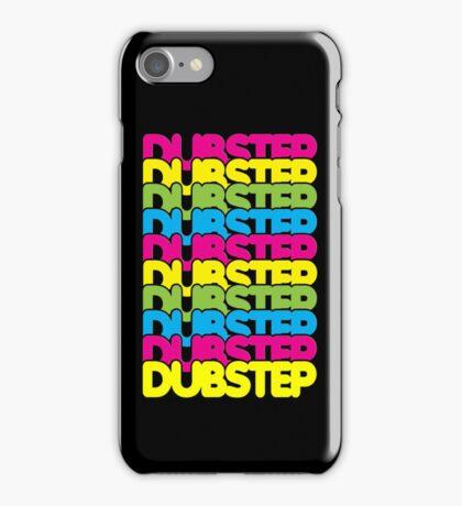 Dubstep (rainbow color) iPhone Case/Skin