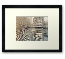 The Letter F 360 degrees. Framed Print