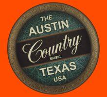 Austin Country Music Texas Kids Tee
