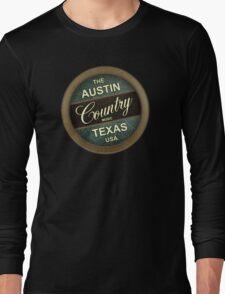 Austin Country Music Texas Long Sleeve T-Shirt