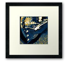 Exhaust Note Framed Print