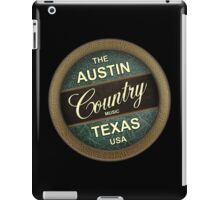 Austin Country Music Texas iPad Case/Skin