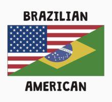 Brazilian American Kids Tee
