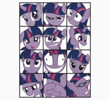 Emotions of Twilight Sparkle Kids Clothes