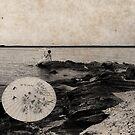 Vintage Sea Side by Jay Reed