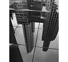 Reflections in Crown Fountain Photographic Print