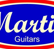 Old Martin guitars Sticker