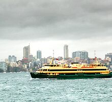 A Sydney Ferry by Eve Parry
