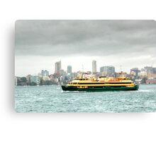 A Sydney Ferry Canvas Print
