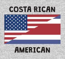 Costa Rican American One Piece - Short Sleeve