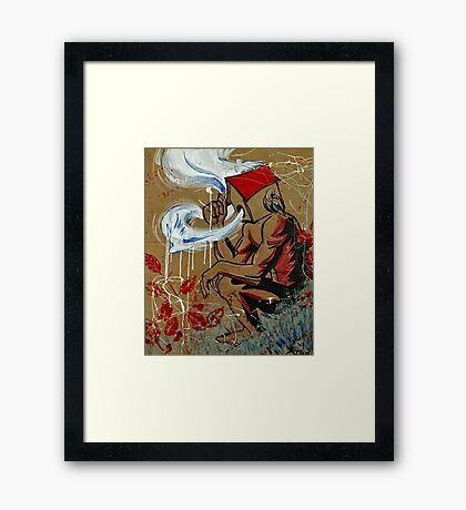 Setting free the Madness  Framed Print