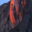 Horsetail Falls Feb 21st Yosemite by photosbyflood