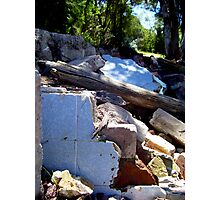 Piles & Piles Of Old Tiles Photographic Print