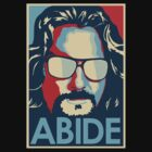 The Big Lebowski (ABIDE) by LamericaTees