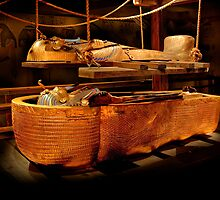 King Tut's Burial recreation by gwarn