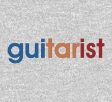 Guitarist Colorful Baby Tee