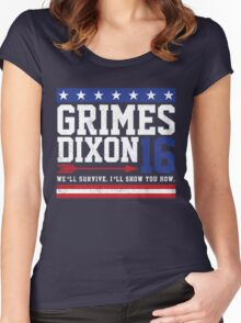 Grimes Dixon President 2016 Women's Fitted Scoop T-Shirt