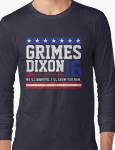 Grimes Dixon President 2016 Long Sleeve T-Shirt