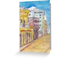 Any Street Greeting Card