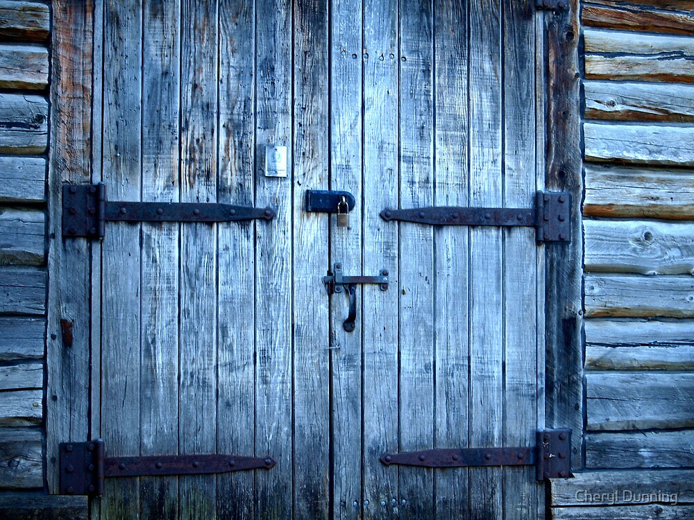 locked.... by Cheryl Dunning