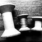 spools by Lynne Prestebak