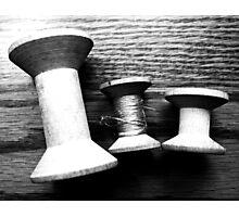 spools Photographic Print