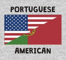 Portuguese American Kids Tee