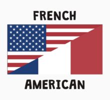 French American Baby Tee