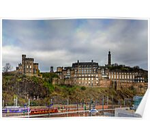 On top of Calton Hill Poster