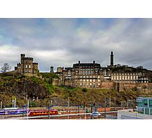 On top of Calton Hill Photographic Print