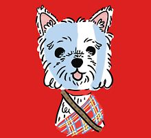 Braveheart Westie Womens Fitted T-Shirt