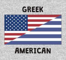 Greek American Kids Tee